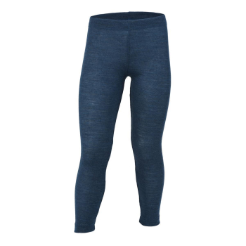 Engel, Kinder Leggings, blau melange Wolle