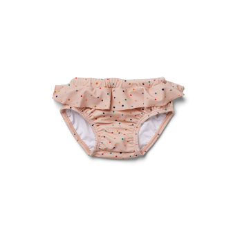Liewood, Baby Badehose mit Volant, Confetti Mix