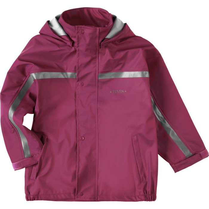 BMS, Softskin Regenjacke, purple