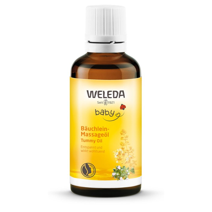 Weleda, Bäuchlein Massageöl, 50ml