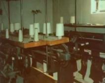 die ersten Strickmaschinen bei disana